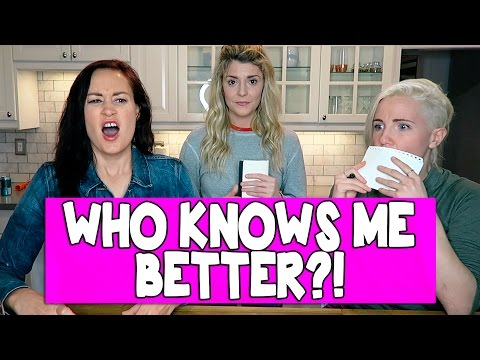 Download Youtube: WHICH BFF KNOWS ME BETTER (ft HANNAH & MAMRIE) // Grace Helbig