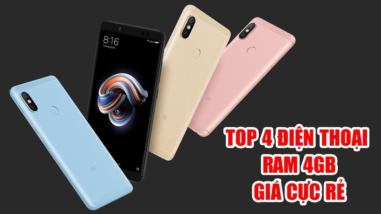 Top 4 chiếc điện thoại có RAM 4GB giá rẻ đáng mua nhất