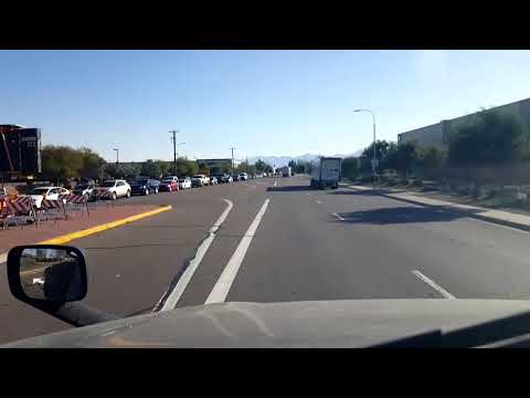 BigRigTravels LIVE! Interstate 10 Eastbound from Ontario, California through Palm Springs area