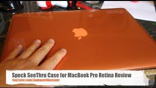 Speck SeeThru Case for MacBook Pro Retina Review