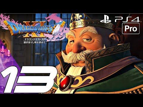 DRAGON QUEST XI - Gameplay Walkthrough Part 13 - Casino & Kraken Boss Fight (PS4 PRO)