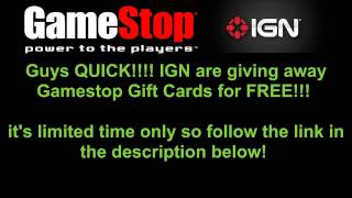 [FREE!!] IGN ARE GIVING AWAY FREE GAMESTOP GIFT CARDS!!
