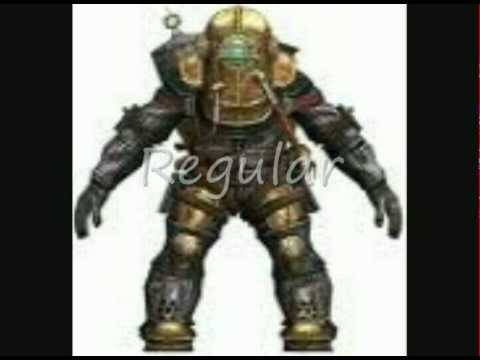 Bioshock all big daddy types youtube for Big daddy s antiques