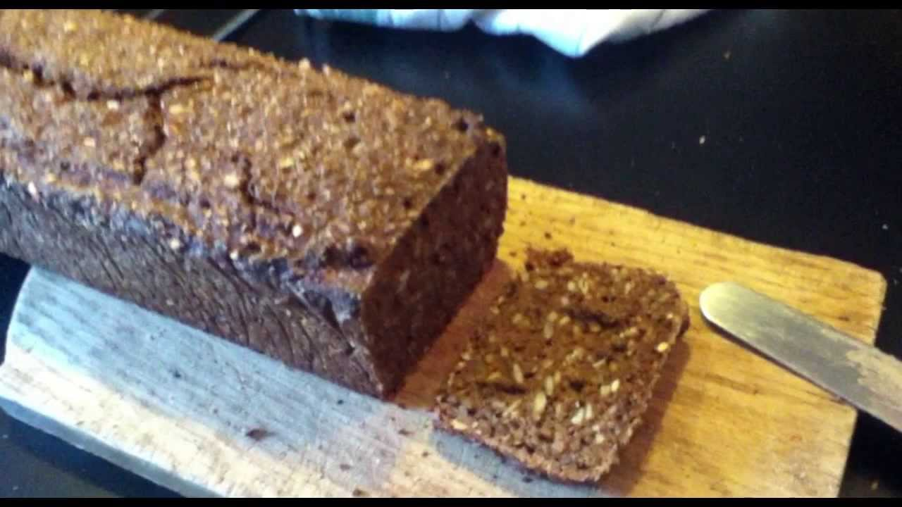 Danish Rye Bread Recipe Original Youtube