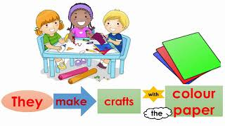 School Things and Activities Vocabulary - Interclass Video