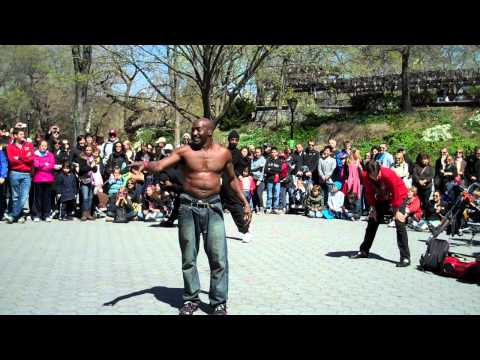 NY Central Park Street Performance (HD) - Part 1