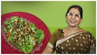 Sprouts Salad |  Mallika Badrinath Recipes | Indian Style