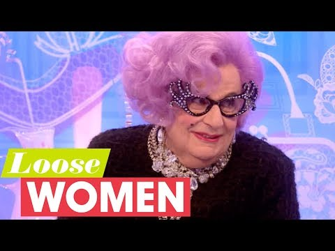 Dame Edna Has The Loose Women In Stitches | Loose Women