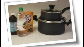 How to Clean a Burnt Non Stick Pot or Pan