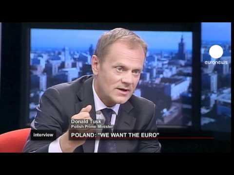 euronews interview - Poland: We want the euro