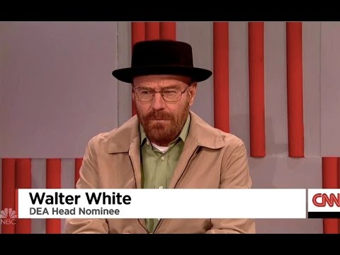 Walter White Shows Up to SNL as a Trump Cabinet Appointee : It