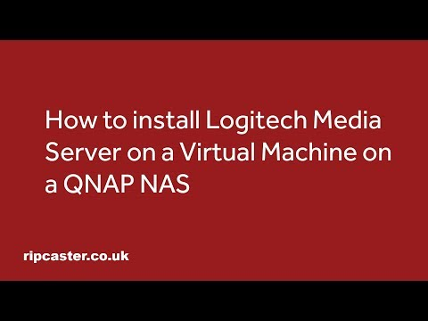 Howto Install Logitech Media Server 7.9 Installed on an Ubuntu Virtual Machine on a QNAP NAS