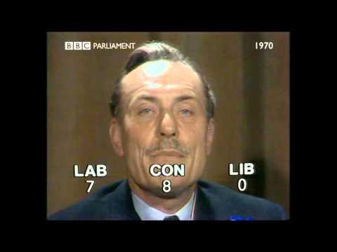 BBC Election 1970 Robin Day Enoch Powell 1h27 raw