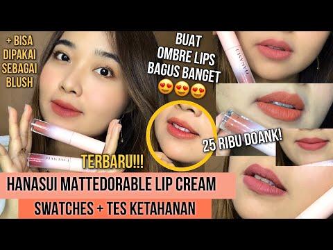 lip-cream-matte-25-ribu-an-terbaik-||-hanasui-mattedorable-lipcream