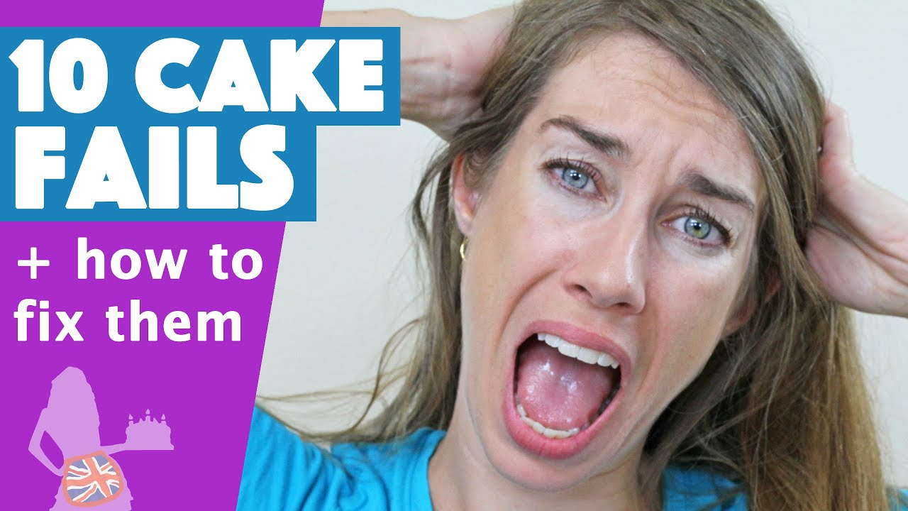 10 Cake FAILS and How to Fix Them