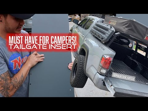 Must Have For TACOMA CAMPERS!