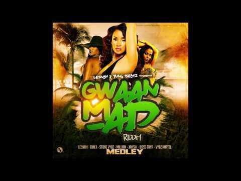 Gwaan Mad riddim Medley (Mégamix by Dj Wall-Ice)
