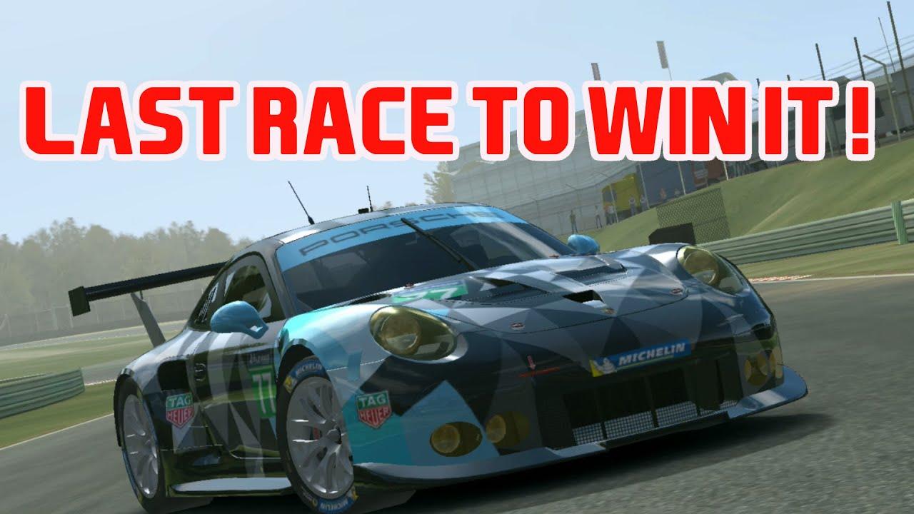 Porsche 911 RSR 2016 last race to win it. Daytona Real racing 3 RR3