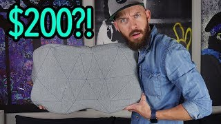 Pilo Review: The High Tech, $200, 6-Pound Pillow!