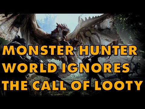 Monster Hunter World Won't Devalue Its Gameplay With Loot Boxes