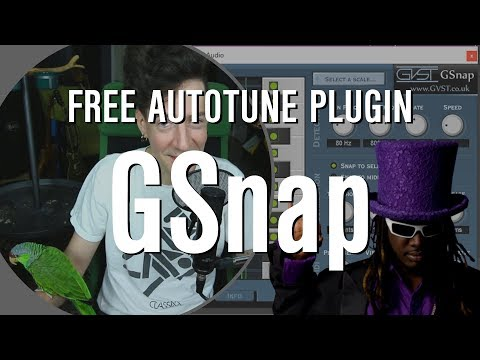 GSnap Tutorial! How to Sound like T-Pain for FREE!