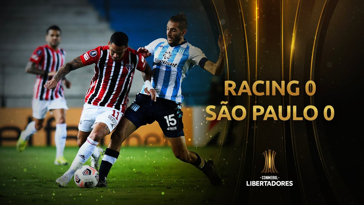 Racing vs. São Paulo [0-0] | RESUMEN | Fecha 3 | CONMEBOL Libertadores 2021