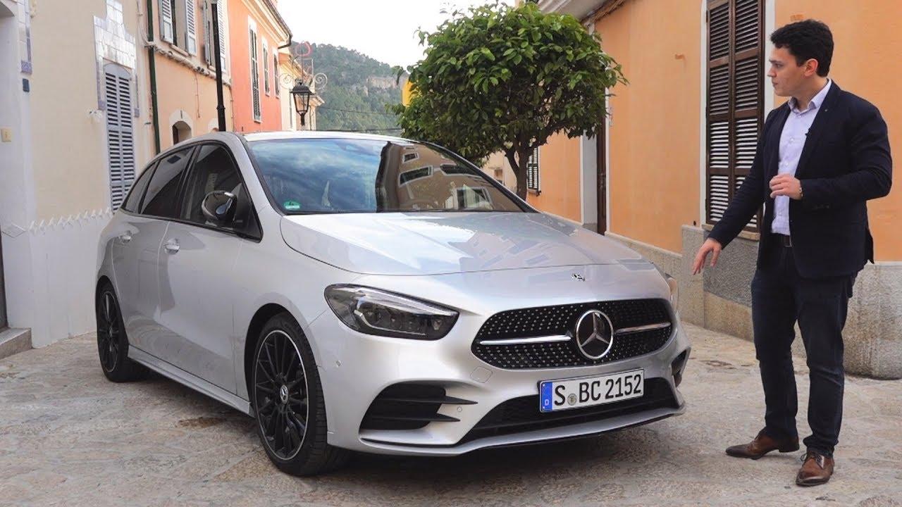 2019 Mercedes B Class - NEW AMG drive Review B200d interior exterior