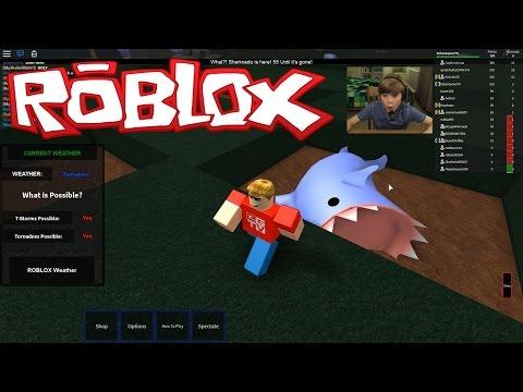 Tornado Alley 2 Halloween - SHARKNADO!! | ROBLOX | Kid Gaming