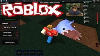 Roblox: Tornado Alley 2 Halloween - SHARKNADO!! | KID GAMING