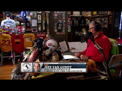 ESPN, ABC Analyst Jeff Van Gundy talks NBA Playoffs, MVP Race and more (5/12/17)