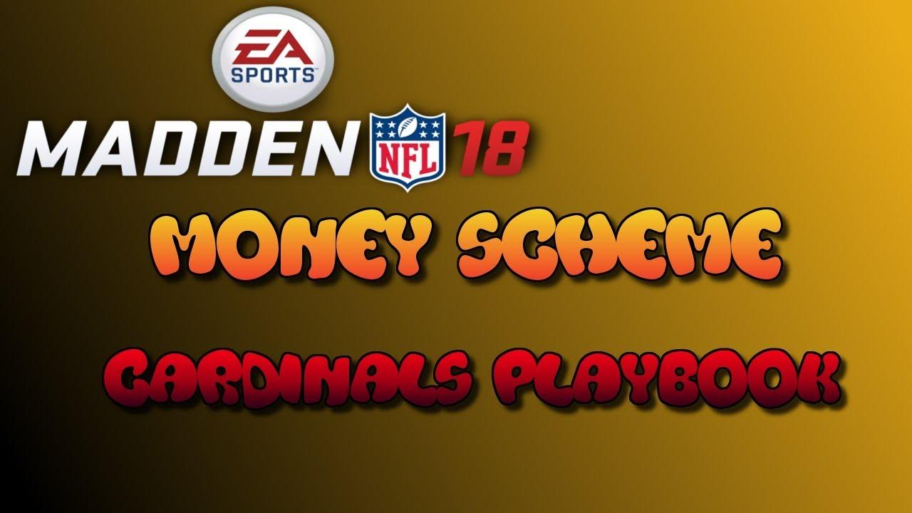 Madden 18 Arizona Cardinals 3-Play Money Scheme!