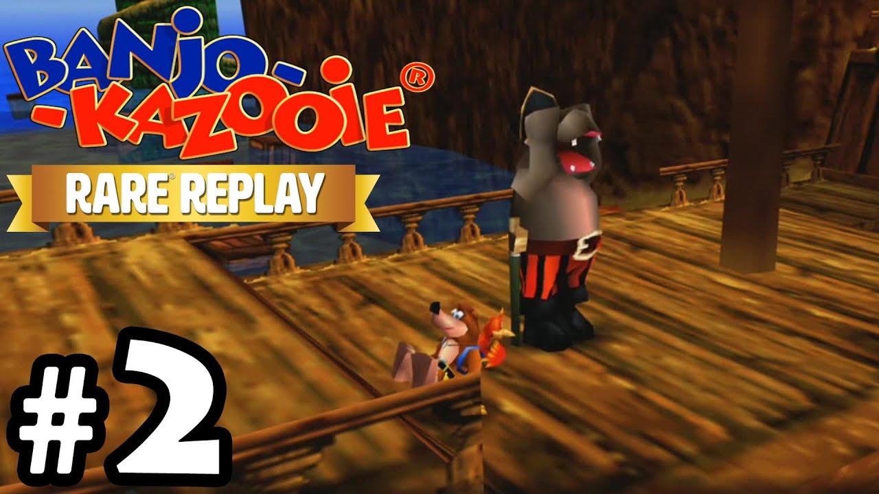 Rare Replay Banjo Kazooie 100 Gameplay Walkthrough