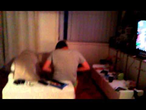 Girl caught masterbating on video
