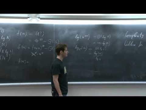 R1. Asymptotic Complexity, Peak Finding