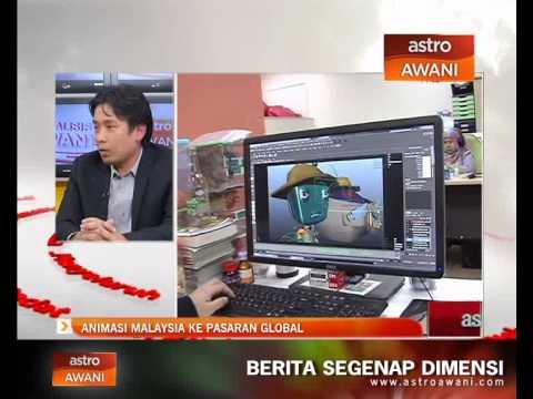 Analisis Awani : Animasi Malaysia ke pasaran global
