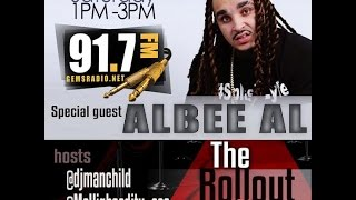 Gems Radio The Roll out show interview ALLBEE AL