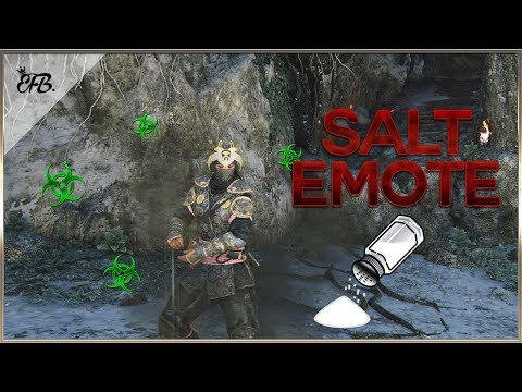 For Honor  Can't Believe They Added This! Salt Emote