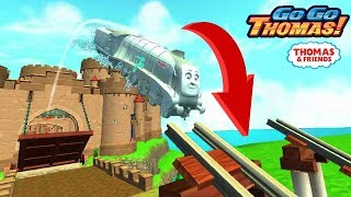 Spencer's Lightening Boost JUMPS Over the Bridge!Thomas & Friends: GoGo Thomas! (By Budge) New 2019