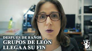 GRUPOS DE LEÓN SE DESPIDE