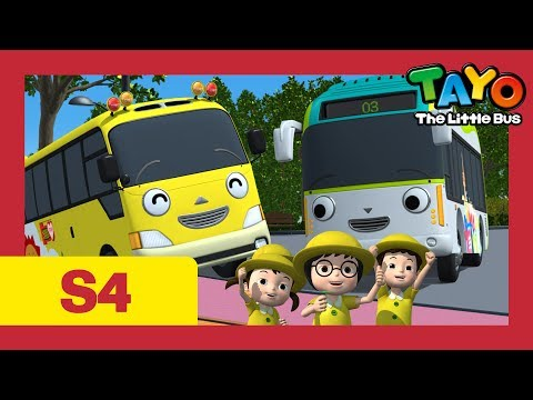 Tayo S4 #20 l Kinder's Field Trip l Tayo the Little Bus l Season 4 Episode 20