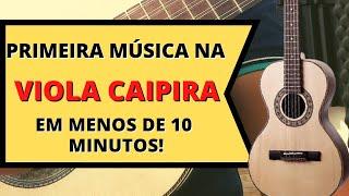 #1 Aula de viola caipira para iniciantes - Tocar nunca foi tão fácil - Diego Silva