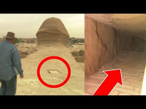 Great Sphinx of Giza Egypt: Secret Tunnels Confirmed - Ancie