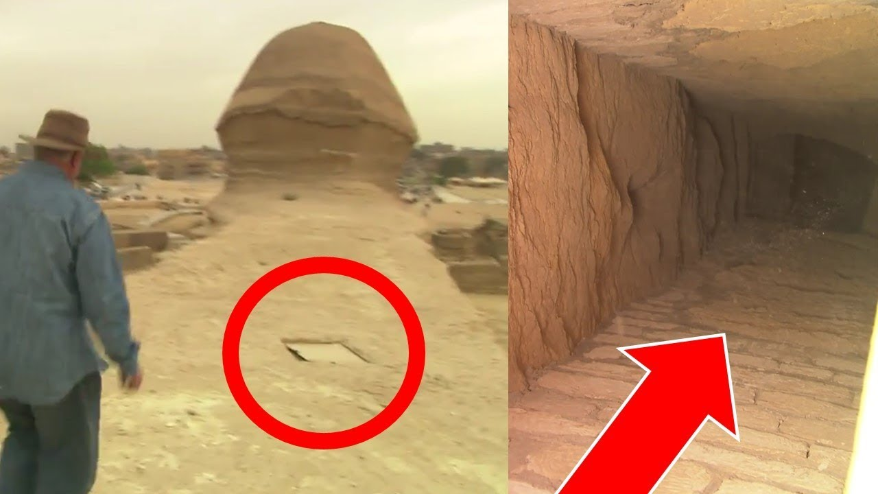 Great Sphinx of Giza Egypt Secret Tunnels Confirmed - Ancient Egyptians \u0026 Hall of Records & Great Sphinx of Giza Egypt: Secret Tunnels Confirmed - Ancient ...