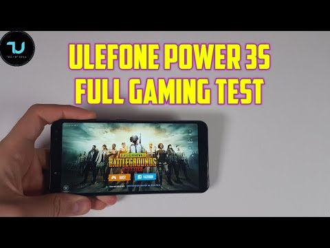 Ulefone Power 3s Gaming Review/PUBG/Mobile Legends/Bully/Asphalt 8/Helio P23 Test