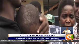 Police pursuing househelp suspected of killing employer and child