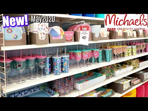 MICHAEL'S IS OPEN * WHAT'S NEW COME WITH ME WALKTHROUGH MAY 2020