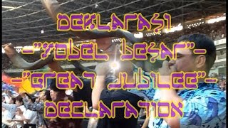 Deklarasi Yobel Besar - Great Jubilee Declaration - Papua