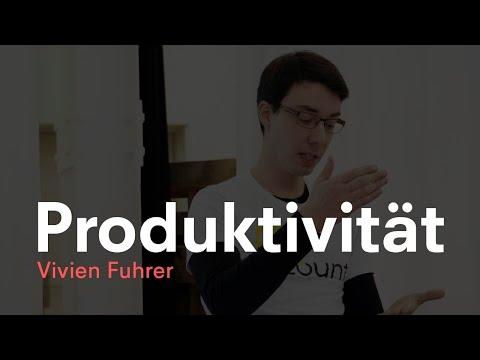 Produktivität | Vivien Fuhrer | Brownbag im Effinger