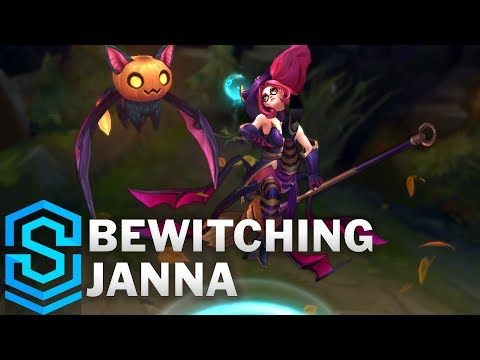 Bewitching Janna Skin Spotlight - Pre-Release - League of Legends thumbnail