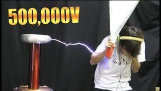 500,000Vの雷に撃たれてみた【衝撃映像】